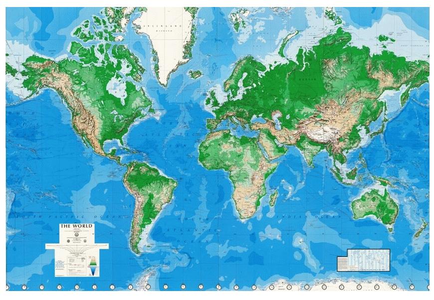 DMA World Map